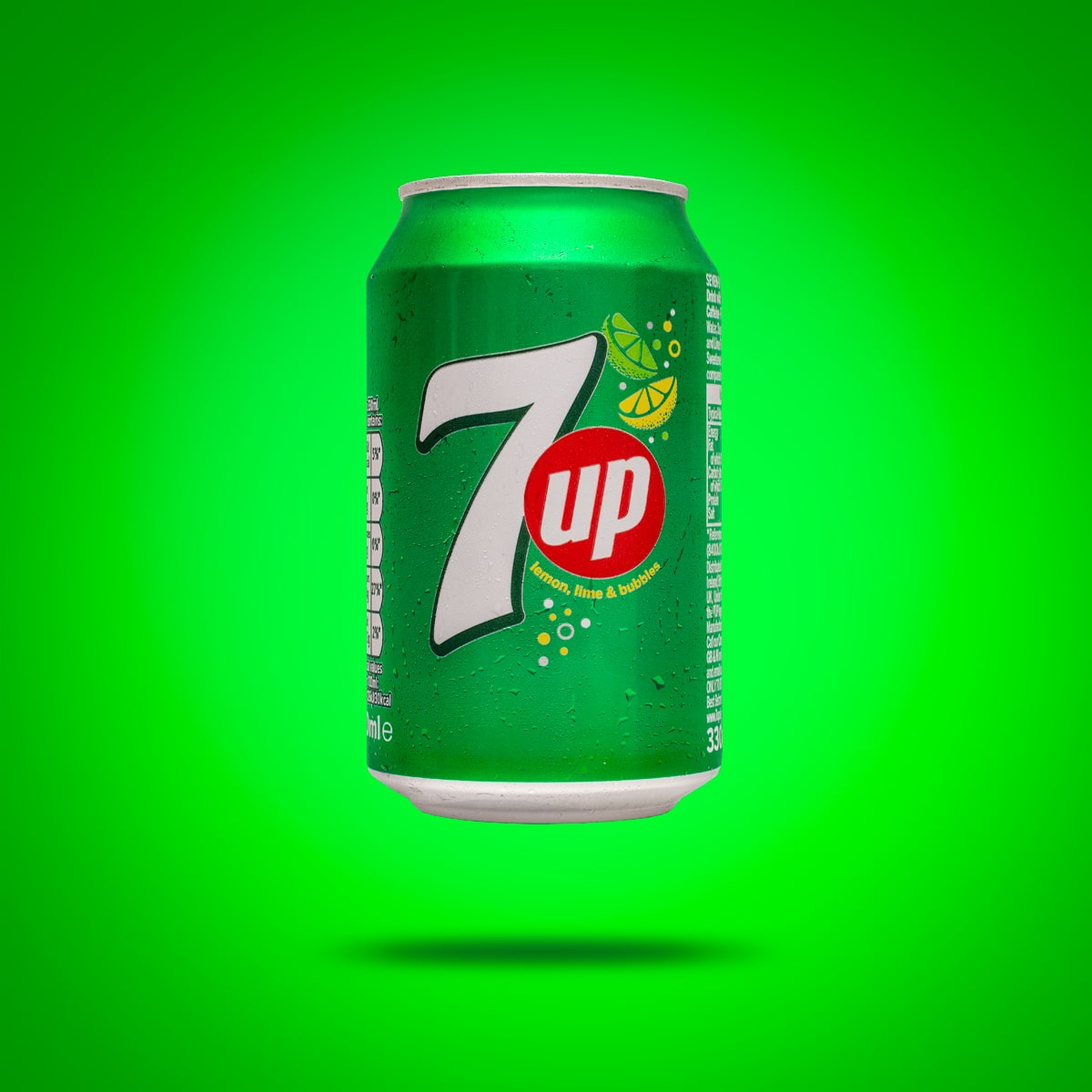 E-commerce Product Photography Limerick Ireland cold drink 7up